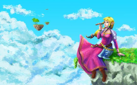 Zelda Skyward Sword by SuzetteRGreinwich