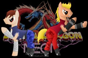 Double Dragon by SomeponyToLove