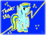 ThunderSky (art Slave) by Honey-PawStep