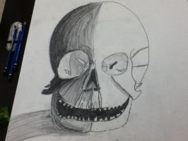 Another skull by PatrickRGT92