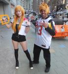 Fem Roxas and University of Maryland Roxas by R-Legend