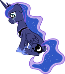 Princess Luna Crying by 90Sigma