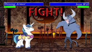 Pony Kombat Tournament Round 1, Battle 7 by Macgrubor