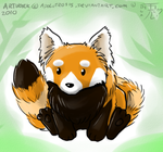 """""""Little Red Panda"""" by Apolutrosis"""