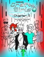 CraftyGirls Chapter 5 Cover by TomBoy-Comics