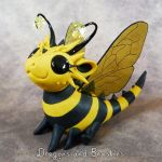 Sculptober: Bug by DragonsAndBeasties