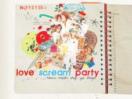 LOVE SCREAM PARTY by candykicks