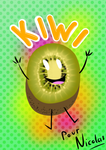 Happy kiwi ! by LadyDeVeyre