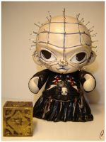 Pinhead - Munny by Flame-Ivy