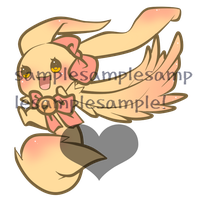 Sparklebunny Lineart Auction by pink-winter