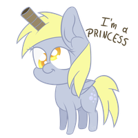 Derpy is a Princess! by Topas-Art