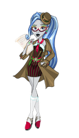 Mafia High: Ghoulia Yelps. by Uruseline