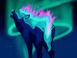 Howl to the stars by AngelicMisery