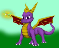 Spyro The Dragon by Spacer176