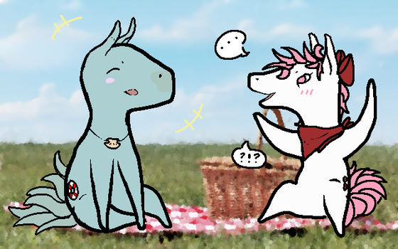 A Picnic by cyc1ops