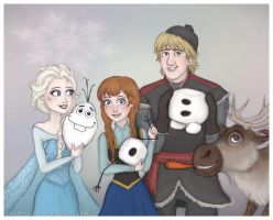 Frozen Group by Loony-Lucy