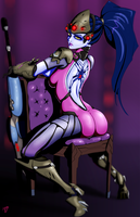 Widowmaker by hotpinkevilbunny
