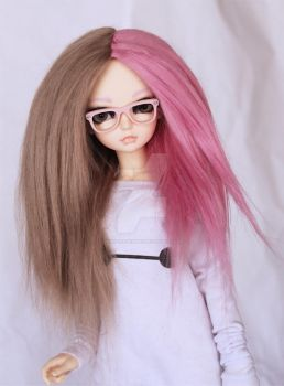 Zimi 1/2 1/2 wig by MonstroDesigns