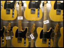 Telecaster-Wall by KrisSimon