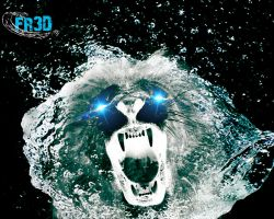 WATER LION by Fr3D52
