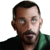 Hugh Laurie by Hockypocky