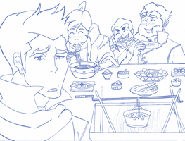 LOK: Come and eat Mako! by ButterflyMelodyFox