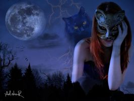cat-witch by ad-shor