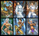 STAR WARS THE GOOD PERSONAL SKETCH CARDS by AHochrein2010
