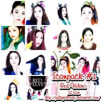 [Iconpack #1]: Red Velvet (Happiness) 100x100 by PalbySolitary