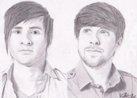 Ian And Anthony Of Smosh by fcagems12
