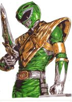 Green Ranger! by Thestickibear