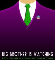 Big Brother is Watching by Conservatoons