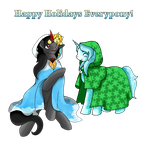 Happy Holidays - Sombra's Family by Pixel-Spark