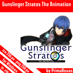 Gunslinger Stratos The Animation Icon for Windows by PrimaRoxas