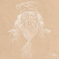Michael Gambon | Dumbledore by dankershaw