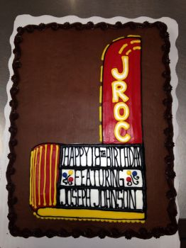 Theater cake by AingelCakes