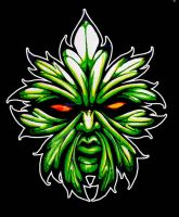 Greenman Tattoo design by mostlymade