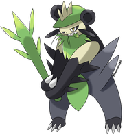 Pancham's Evolution? by Phatmon