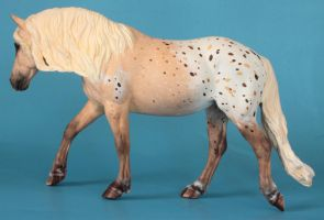 Breyer classic Haflinger mare custom painted by arcadian7