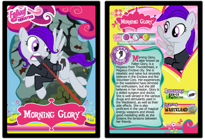 Morning Glory Trading Card by RinMitzuki