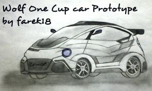 #08 Wolf One Cup car Prototype 2015 01 by farek18