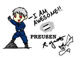 ZHE AWESOME PRUSSIA!! by rinyamato2690