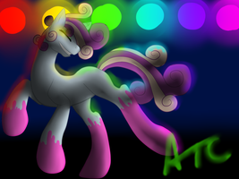 Contest Entry: CreamSoda Rockin' Out by AmzyTheChangeling