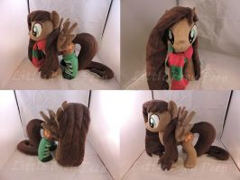 MLP OC Gon Plush (commission) by Little-Broy-Peep
