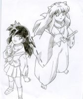 Inuyasha and Kagome 2 by amiegirl17