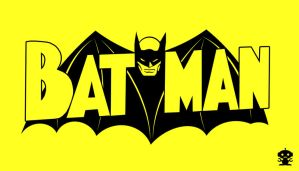 1940 Batman Comic Title Logo by HappyBirthdayRoboto