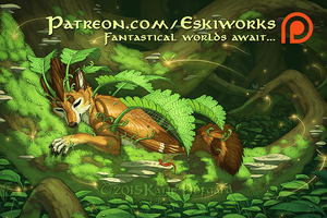 Eskiworks on Patreon! by KatieHofgard