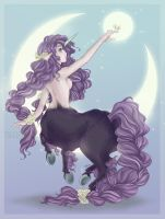 Moon Centaur by TsuchiKuroi