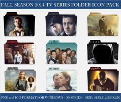2014 Fall Season Tv Series Folder Icon Pack by Llyr86