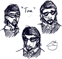 Altitude Sickness: Tom sketches by AkariMMS